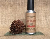 Mens Body Spray All Natural From The Woods. Amazing Woodsy Manly Smell of Cedarwood, Fir, Clary Sage, Rosewood, and Patchouli Essential Oils