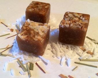 Lemongrass Coconut Handmade Caramel