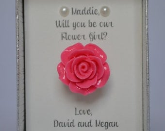 Ask your Flower Girl! Rose Ring (12 colors)