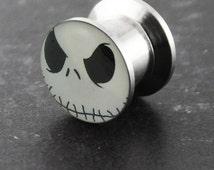 Mr.Jack Stainless Steel Internally Screw Fit Flesh Tunnel Ear Plug Ear Tunnel