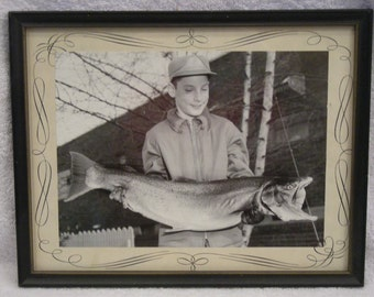vintage Westport Washington  salmon fishing photo