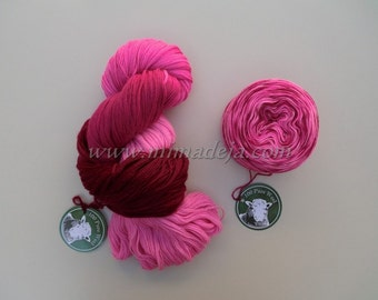 PASSIONATE, hand dyed yarn.