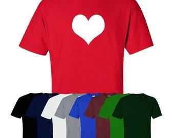 Heart Valentines Day T-shirt Be Mine Love Wife Husband Girlfriend Boyfriend Print Mens Womens UK Ships Worldwide S-XXL
