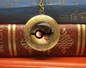 Pokemon locket necklace