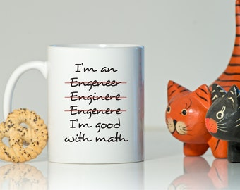 I am an Engineer mug, Engineer gift, gift for Engineer, Engineer Coffee mug, Funny gift, Funny coffee mug for engineer, Engineer mug