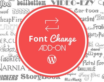 how to change wordpress theme font color