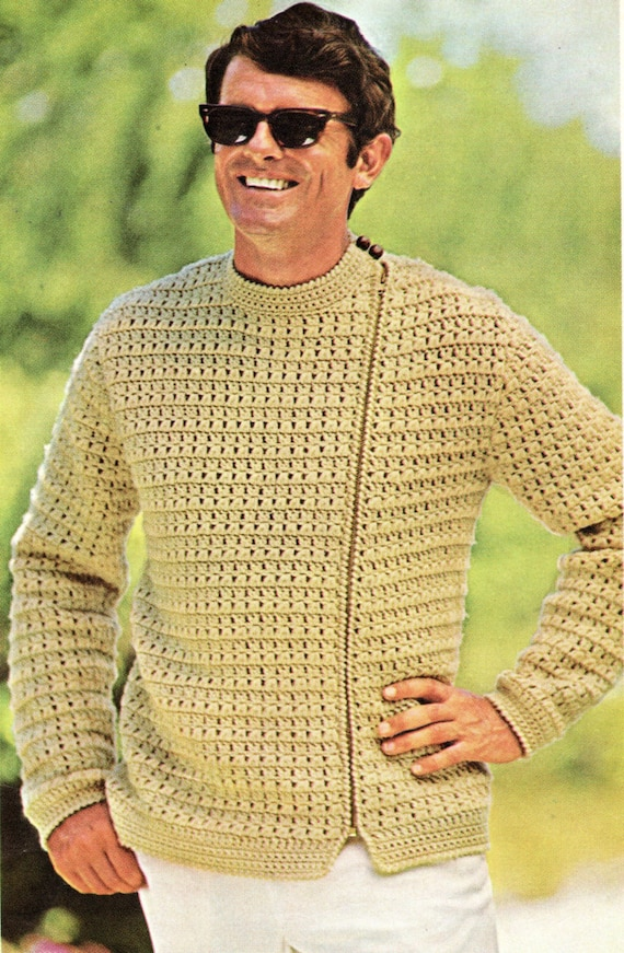Free Crochet Patterns For Mens Sweaters