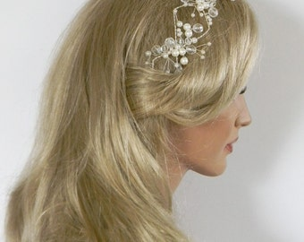 Emilia beautiful headband in ivory