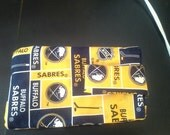 Eyeglass case-licensed Buffalo Sabres fabric