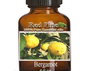 Bergamot Essential Oil - Citrus bergamia - 100% Pure Therapeutic Grade