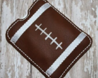 24 Hour Sale Price!!!   Football Gum Sleeve Machine Embroidery Design for the 4x4 hoop
