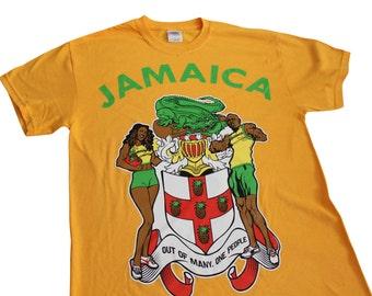 Jamaica Usain Bolt Reggae Top Ska Tshirt