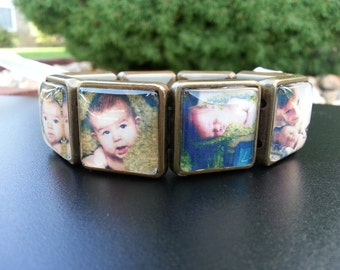 Sweet~Face Photo Bracelets