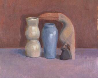 Like Morandi (oil painting)