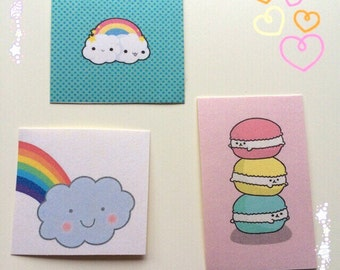 6 x Kawaii Stickers