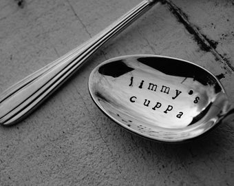 Jimmy's Cuppa - Personalised Spoon Gift Present