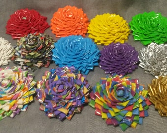 Custom Duct Tape Roses
