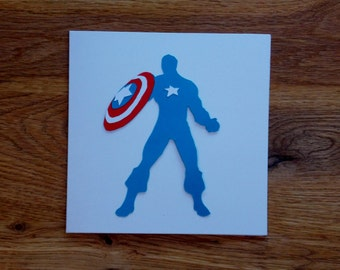 Captain America - Marvel - The Avengers - Greetings Card