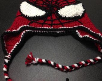 Spider Man Knit Hat