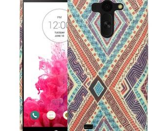 LG G Vista Case, VS880 Case, Tribal Eye TPU Silicone SkinPhone Case Cover
