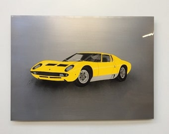 "Shop ""lamborghini"" in Painting"