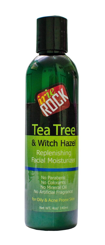 Witch hazel and tea tree