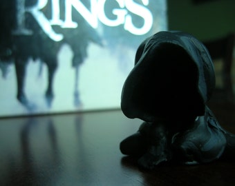 Ringwraith Chibi Miniature Figure - Lord of the Rings - The Hobbit - Nazgul Figure - Witchking of Angmar