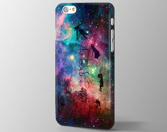 Disney New Peter Pan Quote iPhone 7 case Peter Pan iPhone 6s case Nebula iPhone 7 plus  case Peter Pan iPhone 6s Plus case SE 5s 6 6s case
