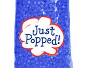 4-Pack Blue Colored Holiday Party Popcorn