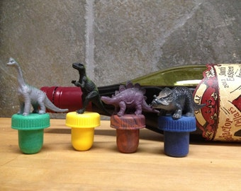 Dinosaur Wine Stoppers