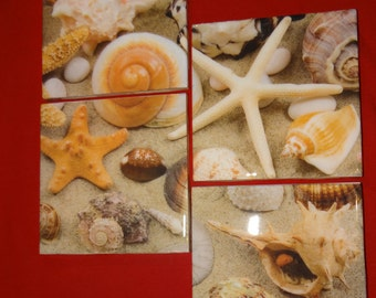 Sandy Beach Coasters