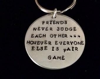 Friends Never Judge
