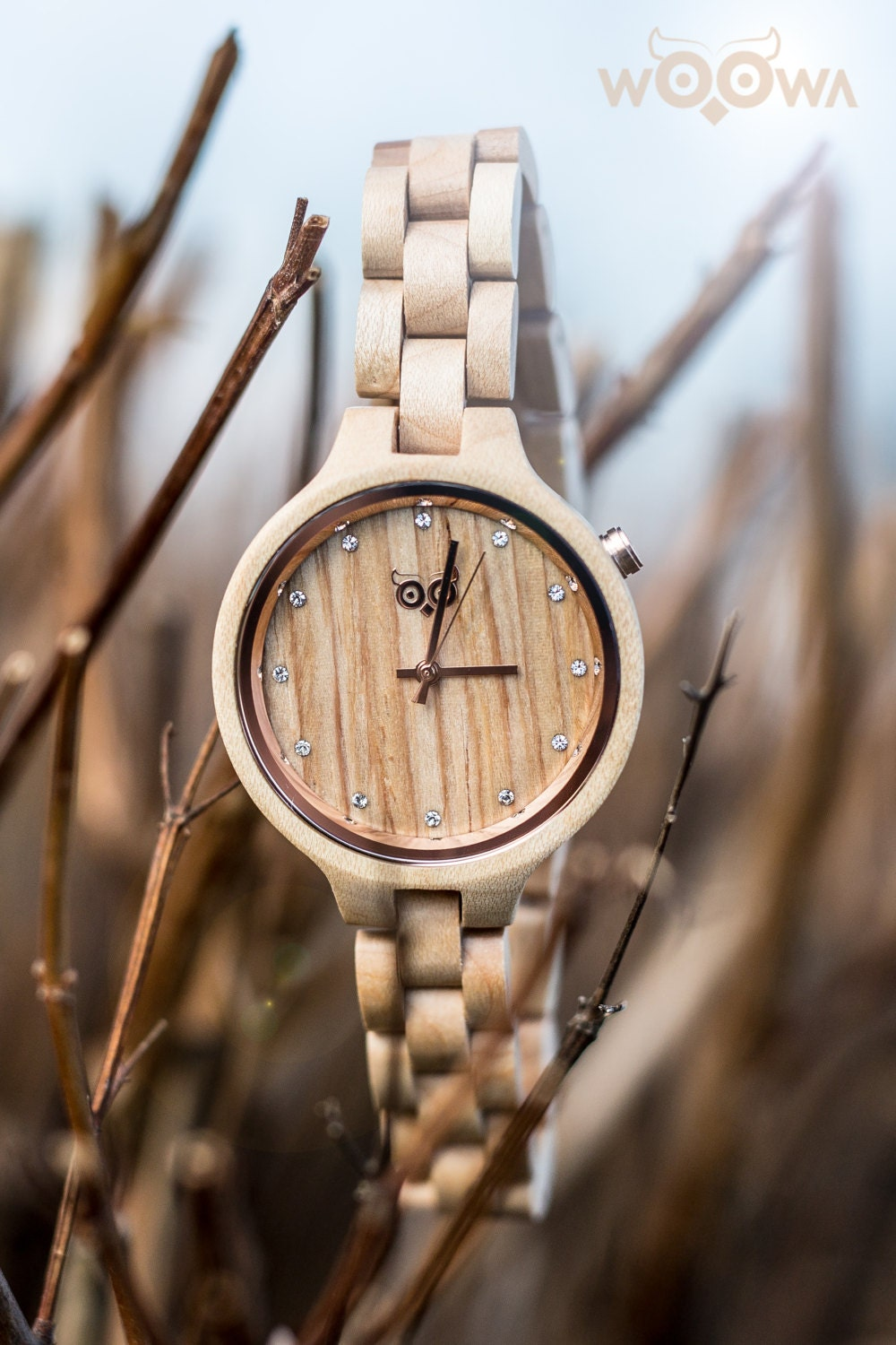 handmade wood watches with design made