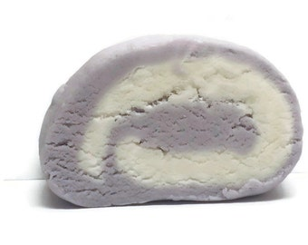 Lavenders A Field Solid Bubble Bath Bar