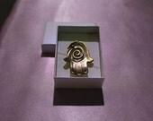 Magnet Spiral Hamsa Judaica Hand Made Jewish Israel Art