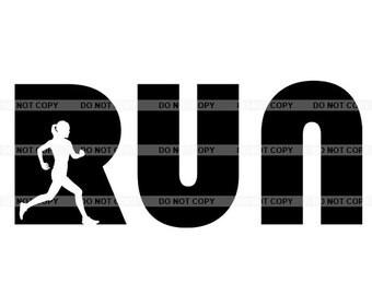 Premium Running clipart, vector graphics, digital clip art, digitalimage