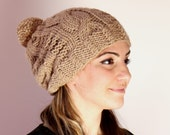 Pom pom Beanie, Pom pom Hat, Unisex Hat, Valentine's Day Gift ideas.