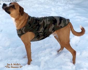 DOG JACKET, Dog Coat, Fleece Dog Jacket, Fleece Dog Coat