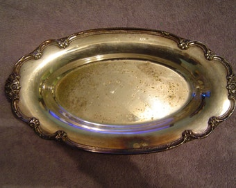 1847 Rogers Bros SP Tray 9819
