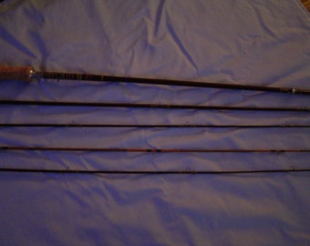 Vintage Kiraku 5 piece Fly Rod