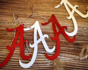 Metal Alabama A Ornaments