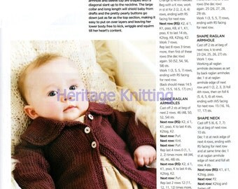cardigan knitting pattern 99p