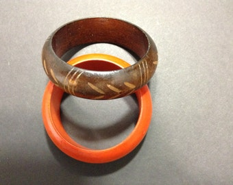Tribal style bangle set