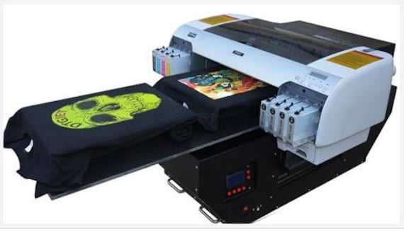 Dtg Printer Flatbed T Shirt Printer A2 Full By