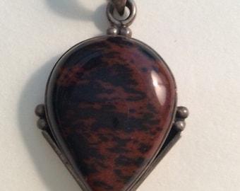 Vintage gemstone pendant,Vintage Jewelry, Vintage Necklace, Vintage pendant