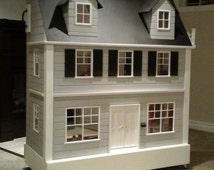 One of a Kind Custom Handcrafted Barbie Size Dream Doll House