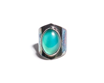 The Mood Ring - Mood Stone Set in Sterling Silver