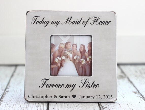 Wedding Thank You Gift For Sister : ... Gifts Guest Books Portraits & Frames Wedding Favors All Gifts