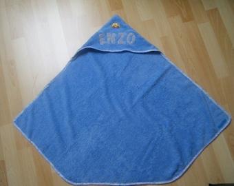 baby's bathrobe