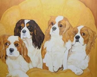 The King Charles Quartet